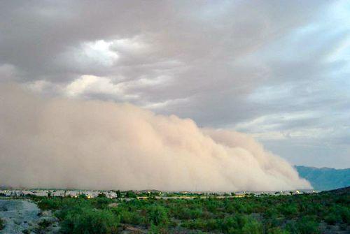 A Dangerous Dust Storm Third Grade Reading Passage
