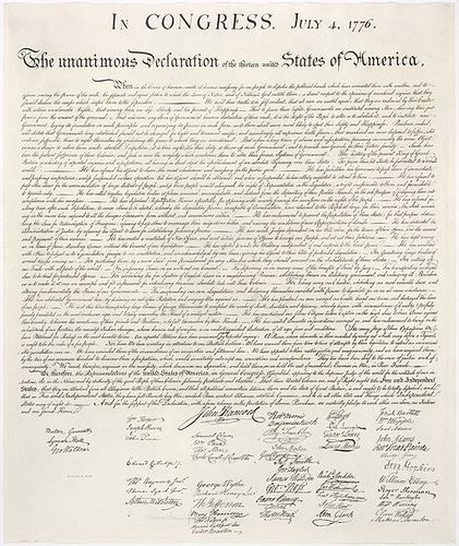 Declaration Of Independence Ninth Grade Tenth Grade Reading Passage