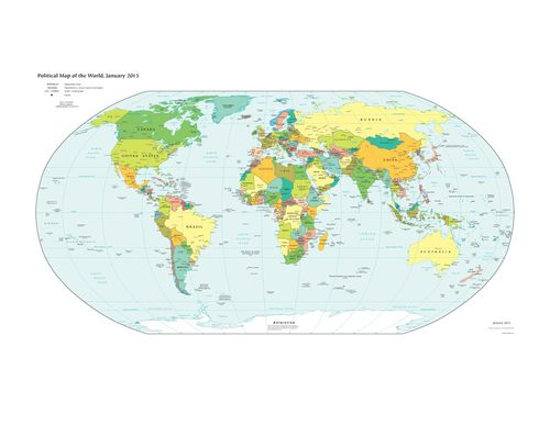 Oceans Around The World - Oceans around the world