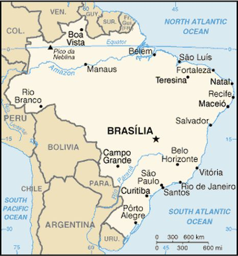 Brazil Today - Cities of Brazil, Fifth Grade Reading Passage