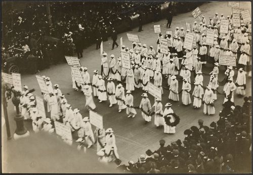 Image result for 1913 suffrage parade in new york