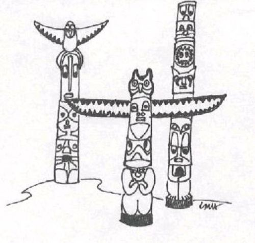 Native Americans Totem Poles Third Grade Reading Passage